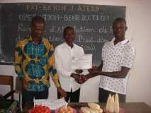 Remise d'attestion de formation